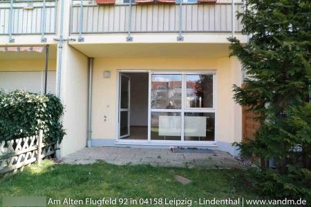 2-комнатная квартира с террасой в новом доме в тихом районе Лейпцига