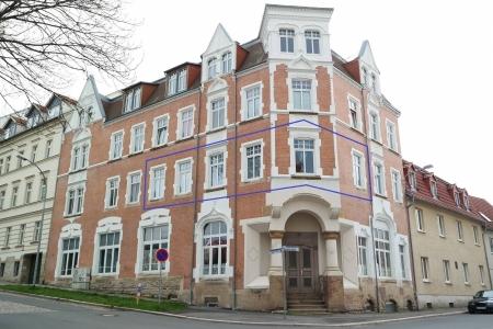 Доходная 2-комнатная квартира в центре г. Цайц